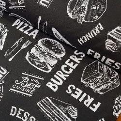 Hamburgeres vászon