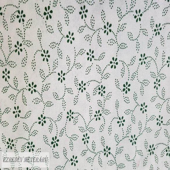 Kisvirágos fehér/zöld
