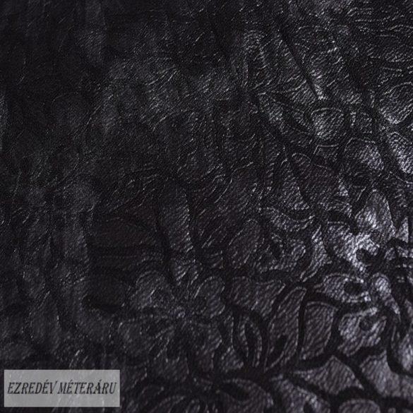 Fekete/mattezüst mintás alkalmi