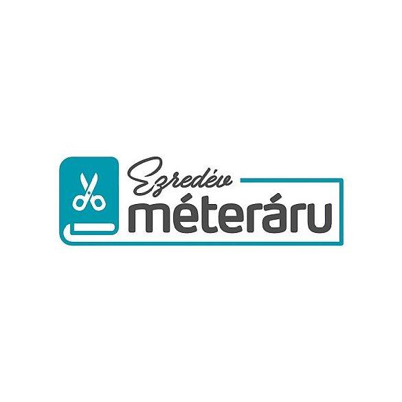 Flokon viszkóz nyomott, tulipános